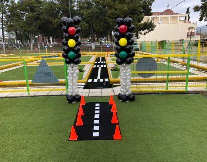 Διαδραστικά Πάρκα Κυκλοφοριακής Αγωγής στα σχολεία!! (Video & Foto)