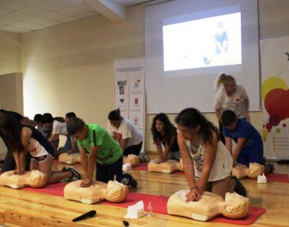 """Μια δράση αφιερωμένη στη ζωή: """"Kids Save Lives"""""""