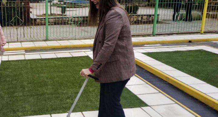 Η κ. Ζαχαράκη οδηγεί το Πάρκο μας
