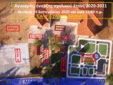 Αγιασμός Δημοτικού και Νηπιαγωγείου Ολύνθου 2020-21