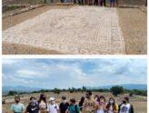 Επίσκεψη στον Αρχαιολογικό χώρο της Ολύνθου